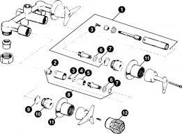 glacier bay faucet diagram kohler bathroom faucet repairs