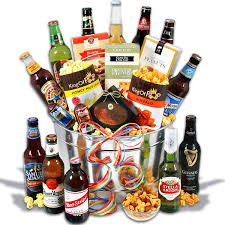 the around the world beer bucket pairs some of the most exquisite beers from all over the world with delicious snacks