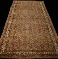 antique malayer rug6 11 x 16 6