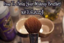 how to clean makeup brushes with coconut oil. clean your makeup brushes \u2013 naturally how to with coconut oil s