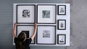 ikea ideas how to hang pictures for a foolproof finish