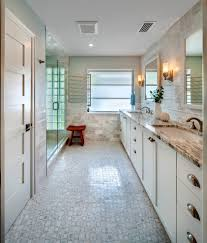 key west style bathroom beach style with cup bin pulls glass wall