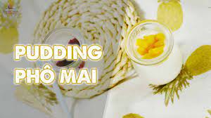 Béo ngậy thơm ngon cho bữa phụ của bé với pudding phô mai