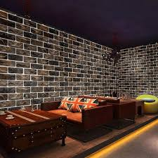 China Low Price <b>3D Brick Wallpaper</b> Home Decoration Self ...