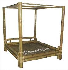 bamboo poster bed.  Bed Four Poster Bamboo Bed  And