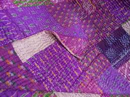 Luxury Silk Quilts Cheap Sale   Quilted throws, Kantha quilt and ... & Luxury Silk Quilts Cheap Sale Adamdwight.com