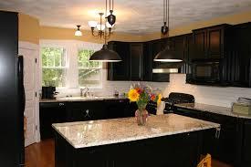 dark kitchen cabinets with light granite countertops models kitchen cabinets and countertops ideas