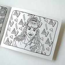 90s coloring book with colour me good 90s colouring book 334