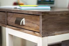 diy modern farmhouse desk plans and anika s life