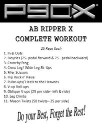 ab ripper x i love this ab workout it works more than just your abs it produces such amazing and fast results little warning though it is not for the