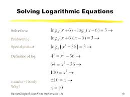 solving logarithmic equations worksheet balancing chemical problems word answers pr