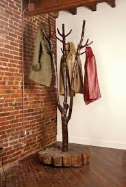 Wooden Tree Coat Rack Extraordinary 32 DIY Tree Coat Racks Personalizing Entryway Ideas With Inspiring