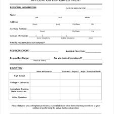 Application Forms Sample 8 Sample Restaurant Application Forms Sample Example Format For