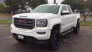 2018 gmc 2500 all terrain. delighful terrain 2018 gmc sierra 1500 double cab 5 inch lift fuel wheels white oshawa on  stock 180059 to gmc 2500 all terrain