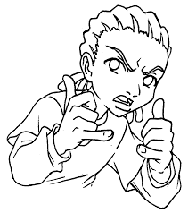 boondocks coloring pictures throughout pages new glum me