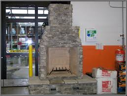 outdoor fireplace home depot
