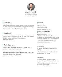 About Me In Resume Cool Professional CVResume Builder Online With Many Templates TopCVme