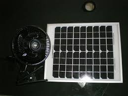 picture of solar attic fan
