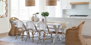 coastal dining room. Dining Room Coastal Table Sets Serena Lily With Bench Pads Tables For Pretoria Height A