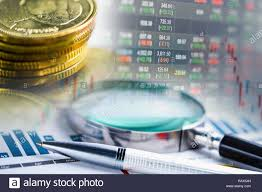 Rax Stock Chart Stock Market Investment Trading Financial Coin And Graph