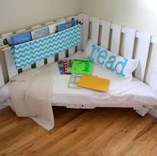 Reading Nook How To Make A Reading Nook From Two Wooden Palettes Part 2