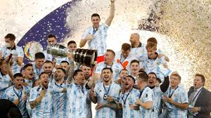 Maybe you would like to learn more about one of these? Erlosung Fur Messi Erster Titel Mit Argentinien Copa America Fussball Sportschau De