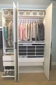 bedroom closet storage 90 best ikea closets images on