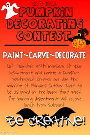 Pumpkin Carving Contest Flyers Pumpkin Decorating Contest Template Postermywall