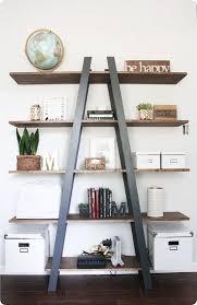 image ladder bookshelf design simple furniture. diy furniture west elm knock off ladder shelf i love this simpleto image bookshelf design simple