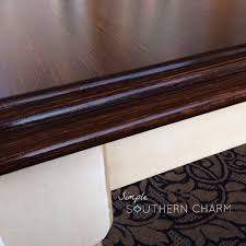 Refinish Kitchen Table Top A Painting Secret You Need To Know And A General Finishes Java Gel