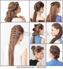 Different Hairstyle women different hairstyles stock photo 631997417 shutterstock 8821 by stevesalt.us