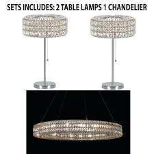 spiridon chandelier set of 3 crystal ring chandelier and table lamps chrome spiridon chandelier uk