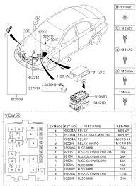 2007 Kia Wiring Diagrams Electrical Wiring Diagram Kia Optima