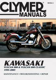 kawasaki motorcycle manuals diy repair manuals clymer kawasaki vulcan 800 vulcan 800 classic motorcycle 1995 2005 service repair manual