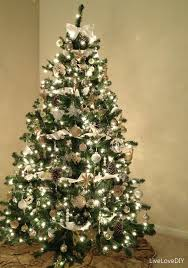 ... Foxy Ideas From Pictures Of White Christmas Trees Decorated :  Delectable Decorating Ideas Using Triangle Green ...