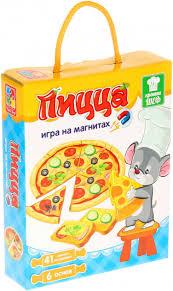 ROZETKA | <b>Игра</b> магнитная <b>Vladi Toys</b> Пицца Рус (VT3004-08 ...