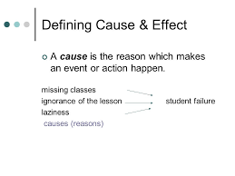 cause effect essays questions why did mary change jobs how  3 defining cause effect
