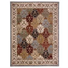 carpet art deco eternity multi 8 ft x 10 ft area rug