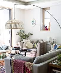 Ikea lighting ideas Room Living Room With Sofa Armchair And Large Floor Lamp Ikea Lighting Ideas From Homes Around The World Ikea