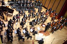 Symphony, a lengthy form of musical composition for orchestra, normally consisting of several symphonies began to be composed during the classical period in european music history, about. Orchestra Wikipedia