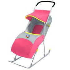 Санки-Коляска Baby Care Умка 2 Коралл У2, Санки Детские ...