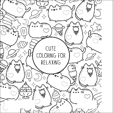 Pusheen Coloring Pages Lezincnyccom