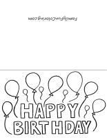 black and white birthday cards printable free printable black and white happy birthday cards