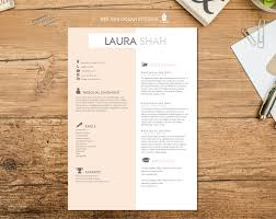 Resume Cv Design With Cover Letter And Reference Page Word