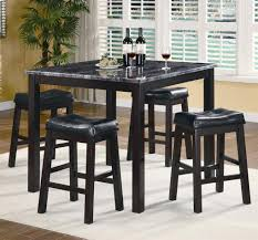 tall dining chairs counter: tremendous counter height dining sets with dark accents color