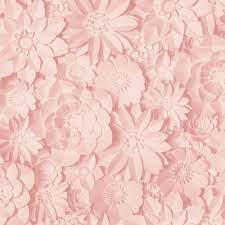 3D Effect Floral Wallpaper Flowers Rose ...