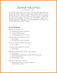 Resume Samples For Hair Styliston Manager Is One Of The Best Idea