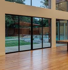 milgard aluminum series sliding patio doors can create a contemporary yet timeless look in your home the frame material is very strong and offers