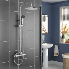 Panana Mehrfunktional Duschsystem Mit Thermostat Chrome