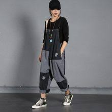Popular Jumpsuit <b>Wide Leg</b> Denim Romper <b>Women</b> Style-Buy ...